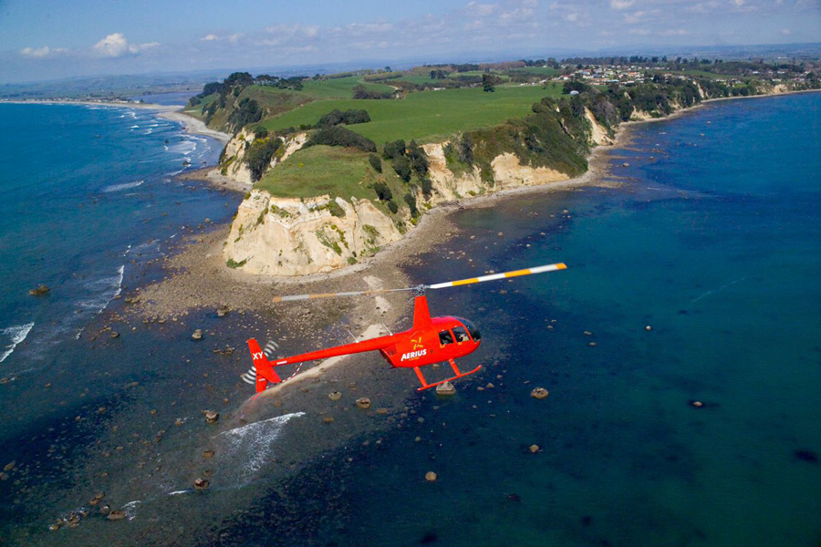 Aerius Helicopters Tauranga New Zealand