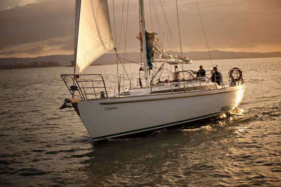 Auckland sailing tour, New Zealand