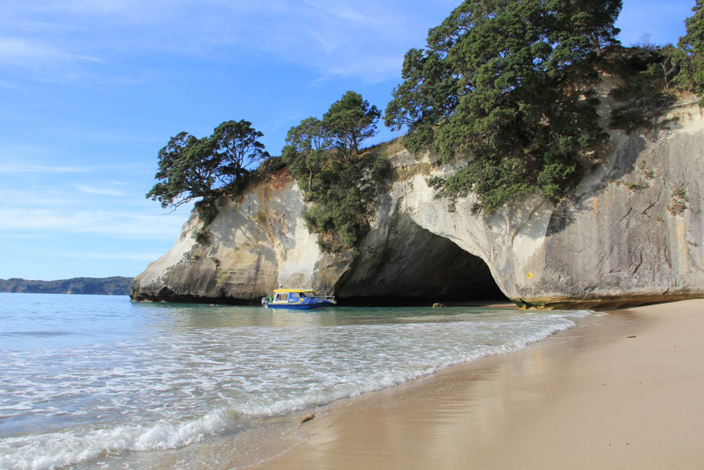 Cathedral Cove guided boat tour, Coromandel, New Zealand