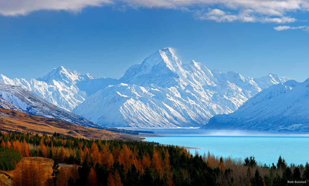 Aoraki/Mount Cook, Mackenzie Basin, New Zealand guided holidays