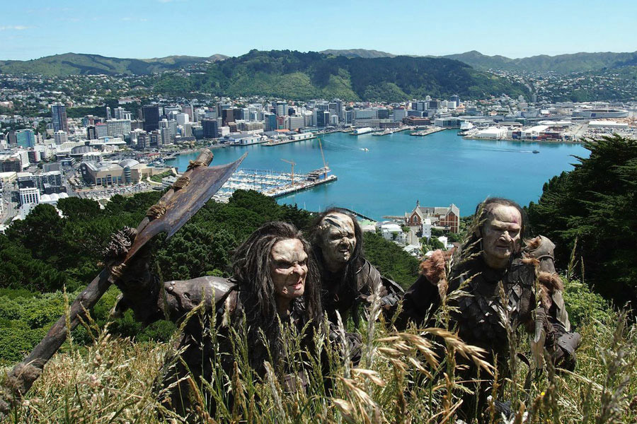 Lord of the Rings tour Wellington
