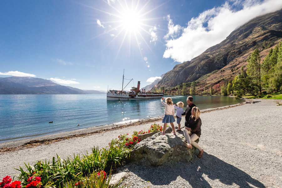 TSS Earnslaw Walter Peak Queenstown