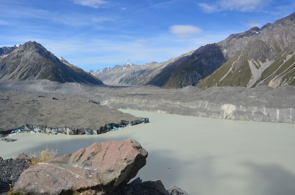 Tasman Glacier, Mount Cook, New Zealand guided tours