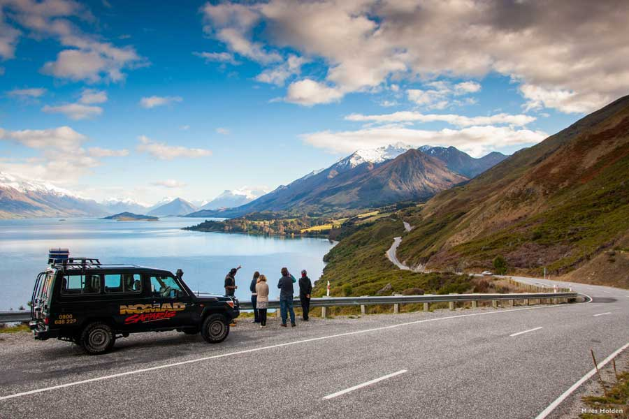 Nomad Safaris guided tour Queenstown, New Zealand
