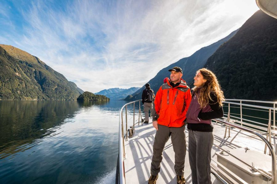 doubtful sound overnight cruise luxury new zealand tours