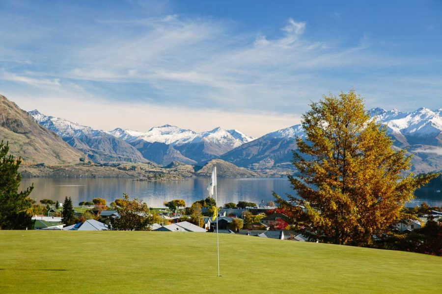 new zealand golf courses