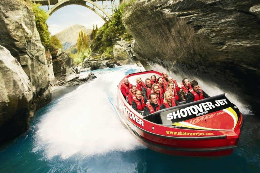 shotover jet new zealand family vacation