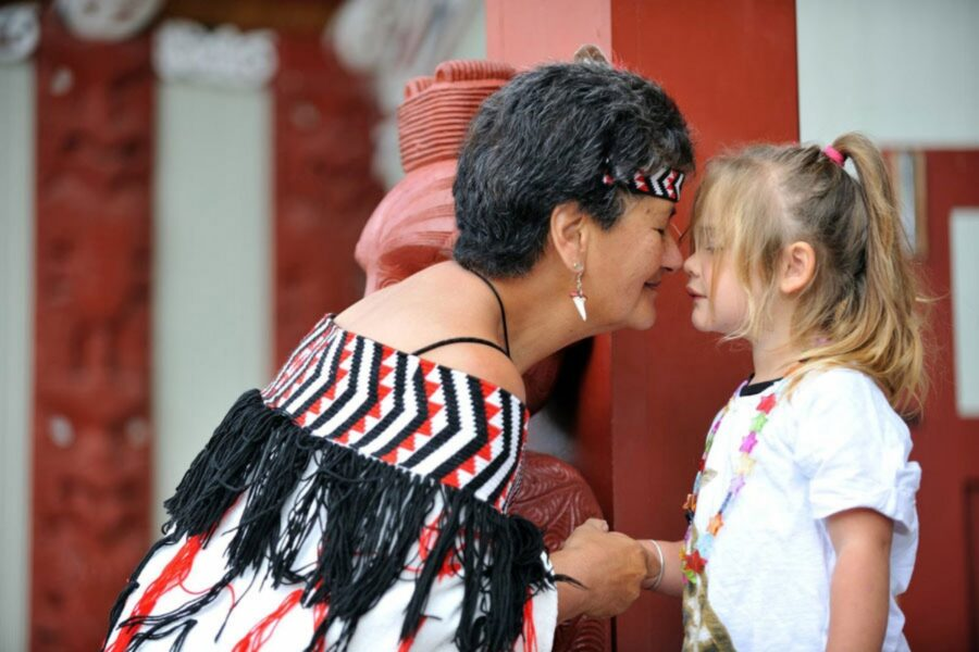 an interactive Maori experience--top tips for traveling with kids in New Zealand