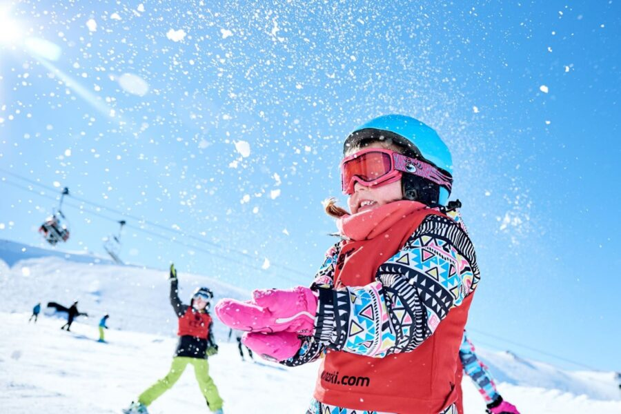snow play, one of the best things to do in New Zealand in winter