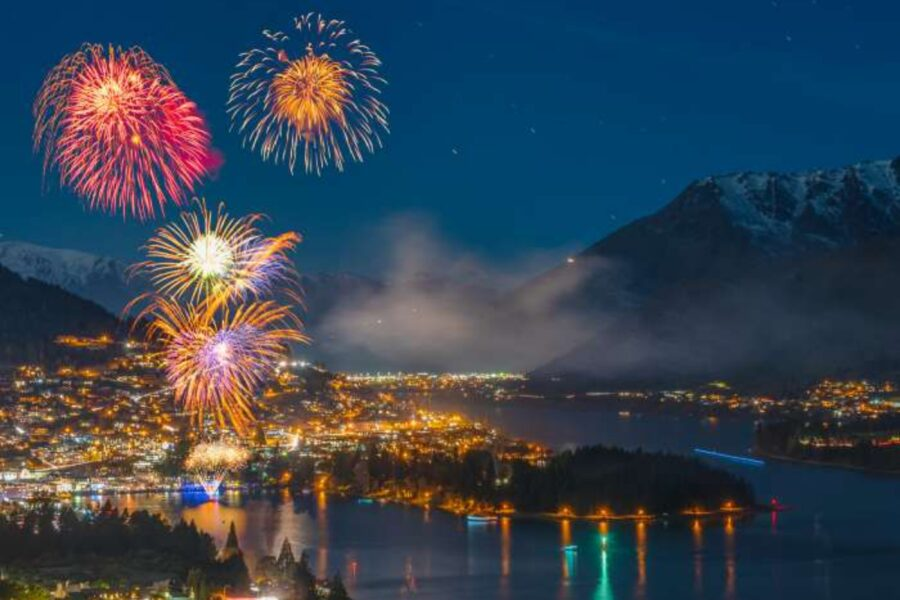winterfest in Queenstown